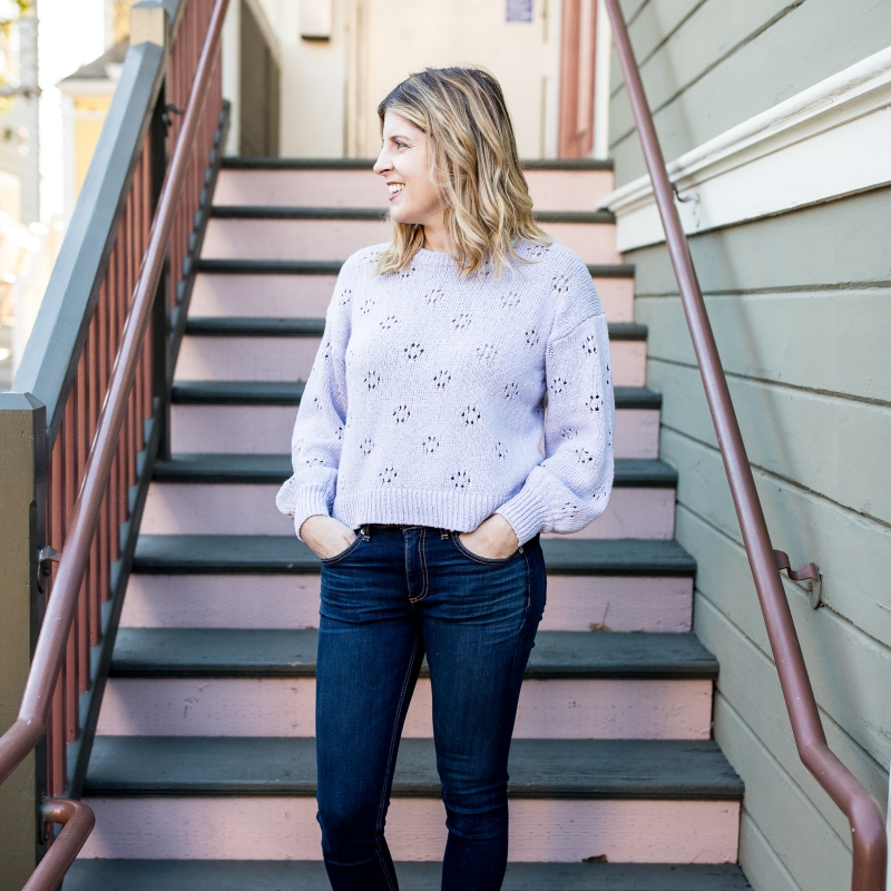 Spring Trend: Pointelle Sweaters